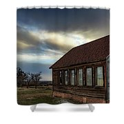 Shaniko Schoolhouse Shower Curtain