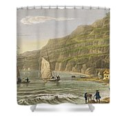 Shanklin Bay Shower Curtain