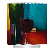 Shannon's Red Shower Curtain by Shannon Grissom