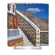 Spiritual Journey.. Shower Curtain