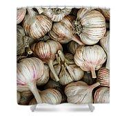 Shantung Garlic Shower Curtain