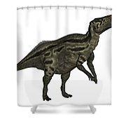 Shantungosaurus Dinosaur Shower Curtain