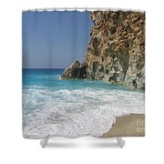 Shaped By The Sea  Shower Curtain