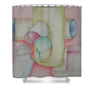 Shaped Shower Curtain