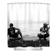 Shapers Shower Curtain