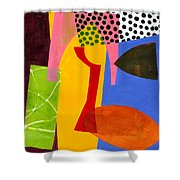 Shapes 4 Shower Curtain