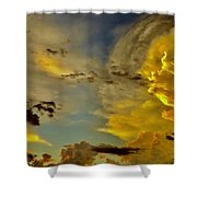 Shapes Of Heaven Shower Curtain