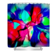 Shapes Our Lives Shower Curtain