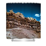 Shaping Rock Shower Curtain