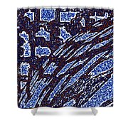 Shards And Pieces Shower Curtain