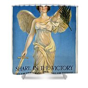 Share In The Victory. Save For Your Country Shower Curtain