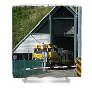 Share The Road Shower Curtain
