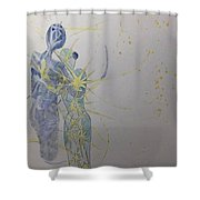 Share Your Light Shower Curtain