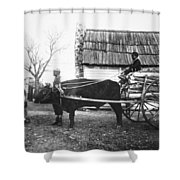 Sharecroppers, C1890 Shower Curtain