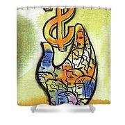 Shareholder Shower Curtain