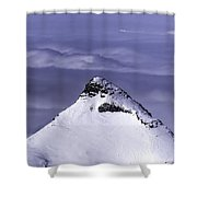 Shark Fin Peak Shower Curtain