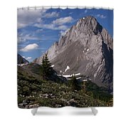 Shark Tooth Mountain Shower Curtain