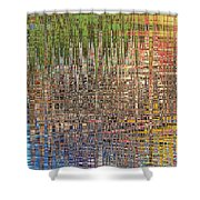 Sharpened Light Shower Curtain