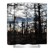 Shasta Trinity National Forest Shower Curtain