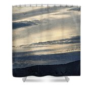 Shasta Trinity National Forest Sunrise Shower Curtain