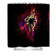 Shattered Dreams Shower Curtain