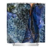 Shattered II Shower Curtain