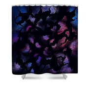 Shattered Perceptions Shower Curtain