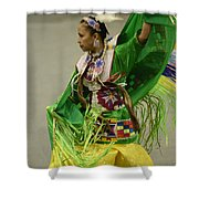 Pow Wow Shawl Dancer 3 Shower Curtain
