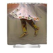 Pow Wow Shawl Dancer 8 Shower Curtain