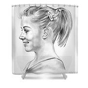 Shawn Johnson Shower Curtain