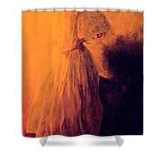 She Danced Shower Curtain