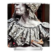 She Of Jackson Square Shower Curtain