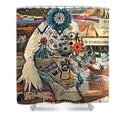 She Was Headed For Greatness Shower Curtain
