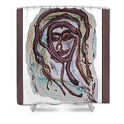 She Yes, Elle Oui, Shower Curtain