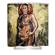 Sheeba Shower Curtain