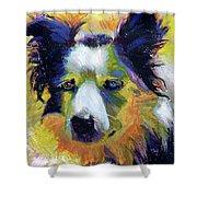 Sheep Dog Shower Curtain