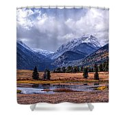 Sheep Lakes Autumn Shower Curtain