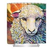 Sheepish Shower Curtain