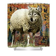Sheep's Clothing Shower Curtain