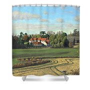 Sheering Hall Near Harlow Essex Shower Curtain
