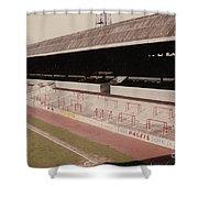 Sheffield United - Bramall Lane - John Street Stand 1 - 1970s Shower Curtain