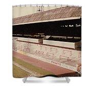 Sheffield United - Bramall Lane - John Street Stand 2 - 1970s Shower Curtain