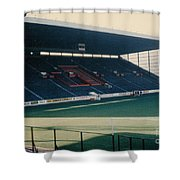 Sheffield United - Bramall Lane - South Stand 1 - 1970s Shower Curtain