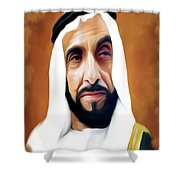 Sheikh Zayed Shower Curtain
