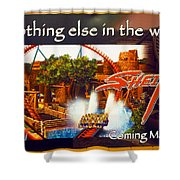 Sheikra Poster Add One Shower Curtain