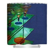 Sheilas Margaritas Shower Curtain
