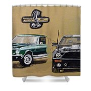 Shelby 40th Anniversary Shower Curtain
