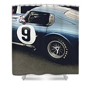 Shelby Cobra Daytona Coupe Shower Curtain