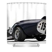 Shelby Daytona Shower Curtain by Douglas Pittman