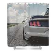 Shelby Detour Shower Curtain